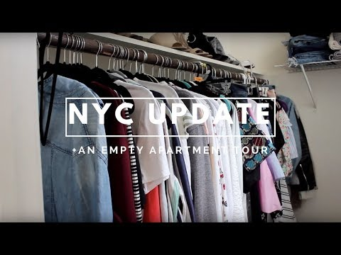 NYC UPDATE + EMPTY APARTMENT TOUR