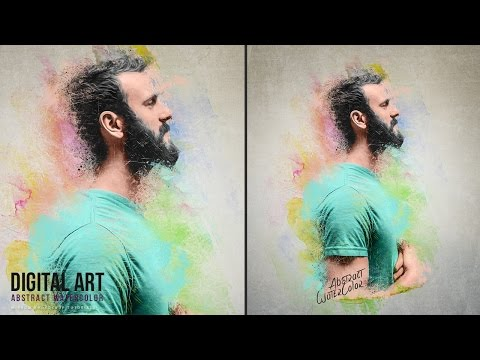 Create an Abstract Watercolor Artwork With Photoshop