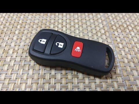 How to change Key Fob Battery on Nissan 350z Altima Armada Maxima Infiniti FX35 G35 I35 Q45 Keyless