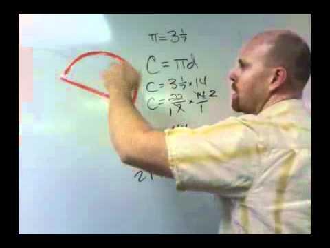 Finding the perimeter of a semi-circle