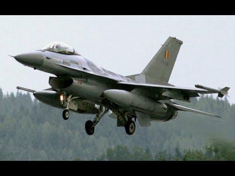The F-16 Falcon Fighter Jet