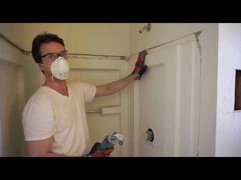 How to Remove a Shower Stall