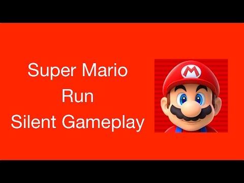 Super Mario Run (Silent Gameplay) (Not a Review)