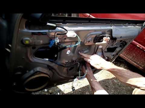 Toyota Camry Window Regulator Motor Removal