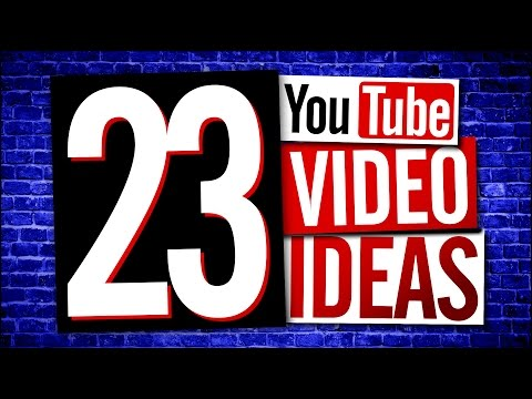 YouTube Video Ideas (Easy)