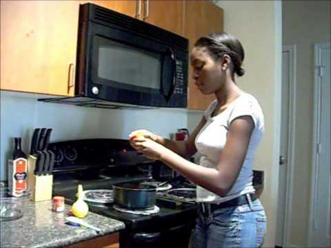 Making a Special Version of Guyanese Pine Tarts