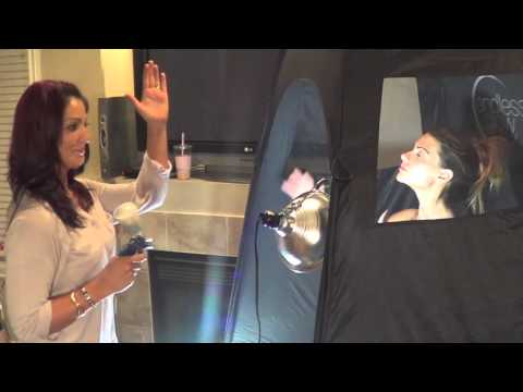 At Home Air Brush Tanning done by a pro! | The Perfect Tan
