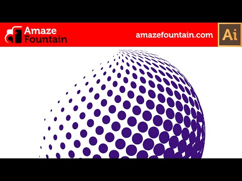 ILLUSTRATOR TUTORIAL: How To Create 3D Halftone Effect (Illustrator Graphics Design Tutorial)