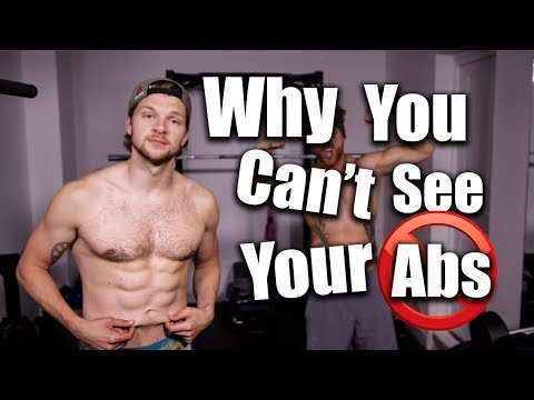 Why You Can't See Your Abs!