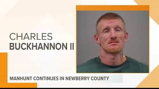 2 suspects in custody, 1 wanted in Newberry County