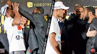 Sergey Kovalev vs. Jean Pascal Full Video Heated Push during face off