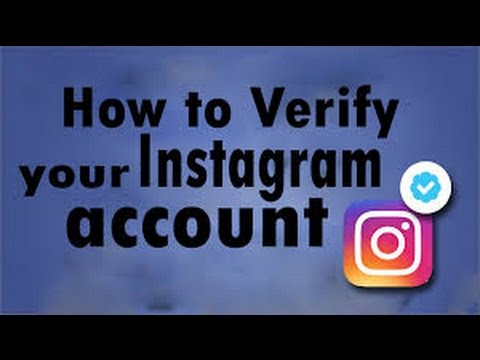 How to get blue tick on instagram 2017