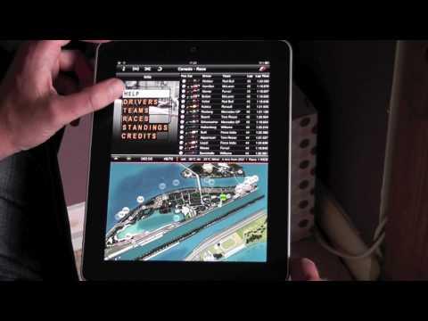 F1 2010 iPad App