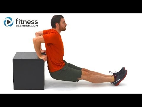 Upper Body Strength Training and Core Workout - Abs and Upper Body Supersets