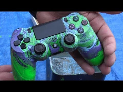 HOW TO HYDRO DIPPING PS4 Controller