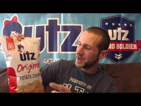 New Bag Design Utz Quality Foods Original Potato Chips!