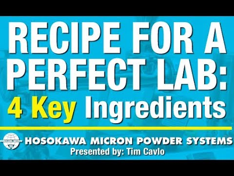 Recipe for a Perfect Lab: 4 Key Ingredients