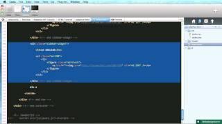 Adaptive Blog Theme: Sidebar and Footer Markup