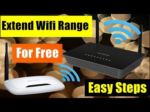 How to Use the old router for increasing the range of wifi router (with simple steps) - Hindi