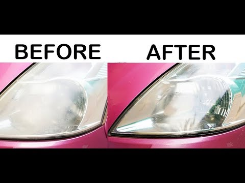 Headlights Cleaning || How to Restore your Headlights for FREE || Brand New Headlights
