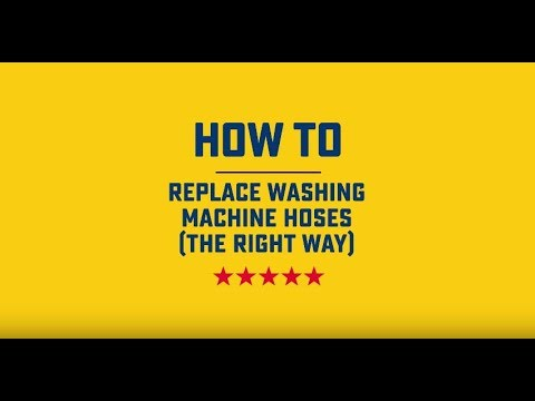 How to Replace Washing Machine Hoses | Roto-Rooter