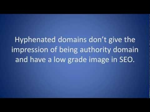 SEO Tip - 5 Tips on how to choose your local business domain name