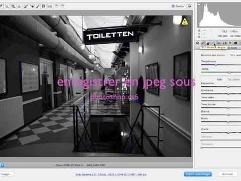 tuto passer de pdf en jpeg avec photoshop cs6