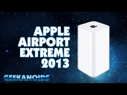 Apple AirPort Extreme 2013 802.11ac Dual Band Wireless WiFi Router