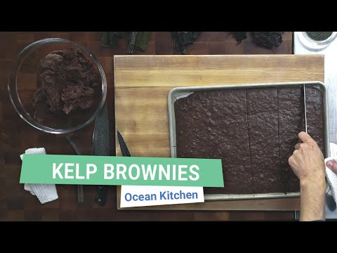 (Sea)Weed Brownies | Ocean Kitchen