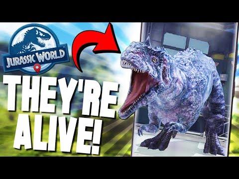 DINOSAUR BATTLES, HYBRIDS and MORE! - Jurassic World Alive Game