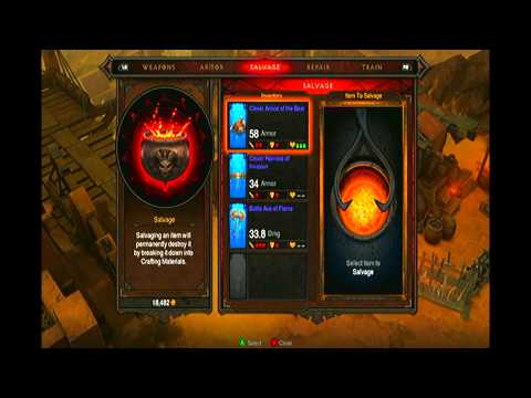 Diablo 3 Xbox 360 Blacksmith Page Locations | How To Get Tomes & Papers | Blacksmith Level 4+