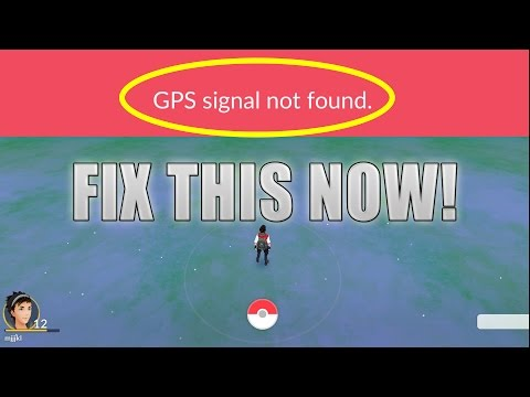 NEW Pokemon GO GPS Signal Not Found / Failed to detect Location FIX!  Fix GPS Android Pokemon GO!