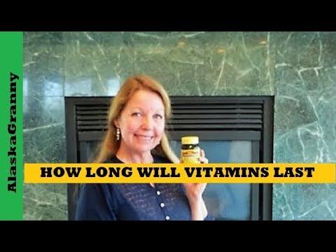 How Long Do Vitamins Last