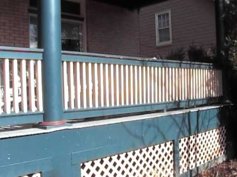 Victorian Porch Railing how to
