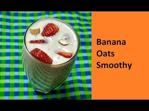 Banana Oats Smoothy / No - 243
