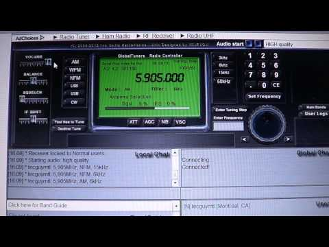 Radio Rossii from Globaltuners Italy receiver