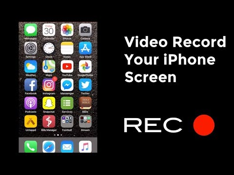 How To Video Record Your iPhone Screen