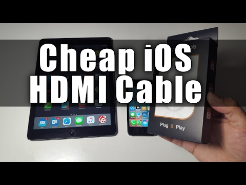 Cheap Lightning Digital AV HDMI Cable for iPhone /iPads
