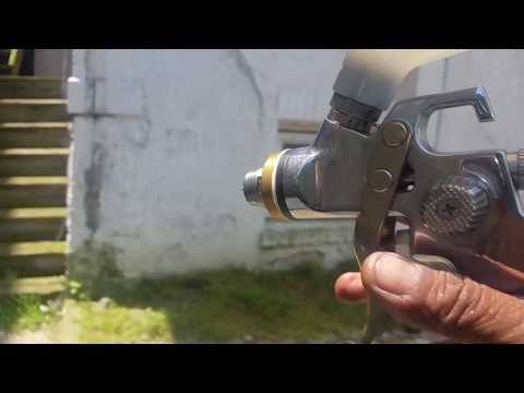 HOW TO CLEAN YOUR PAINT GUN ( MUST DO IT ! )
