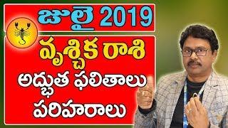 Vruchika Rasi Phalalu July 2019 | 2019 Rasi Phalalu | July