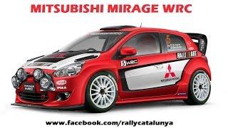 MITSUBISHI MIRAGE WRC 2015-2016-2017