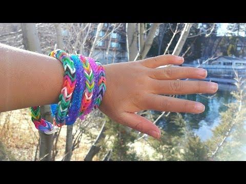 Rainbow Loom: How To Make A Fishtail Bracelet