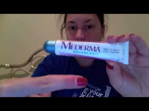 Watch my burn scar disappear with MEDERMA! Review