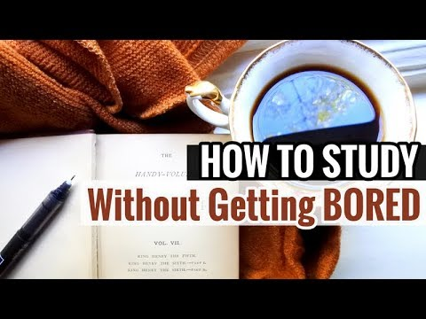 5 Psychological Tips on How to Study Without Getting Bored // The Psychology of Boredom