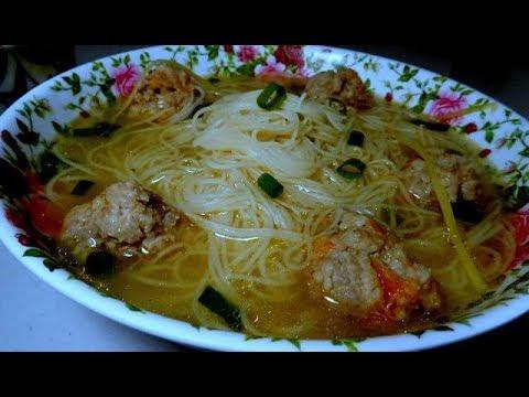 Taiwan Style Mee Suah Soup