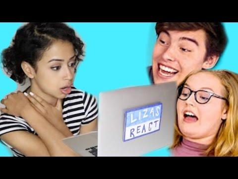 LIZA REACTS TO TEENS REACT TO