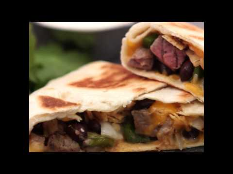How to Make Crunchy Roast Beef Quesadilla Wraps | MyRecipes