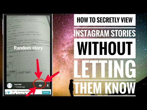 How to see instagram story without them knowing