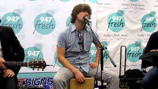 Hanson At 947 Fresh FMs Desk