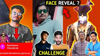 Total Gaming doesn't reveal face why?🤔| Scam with Gyan😱| Assassins huge superchat🤑| Challenge Lokesh